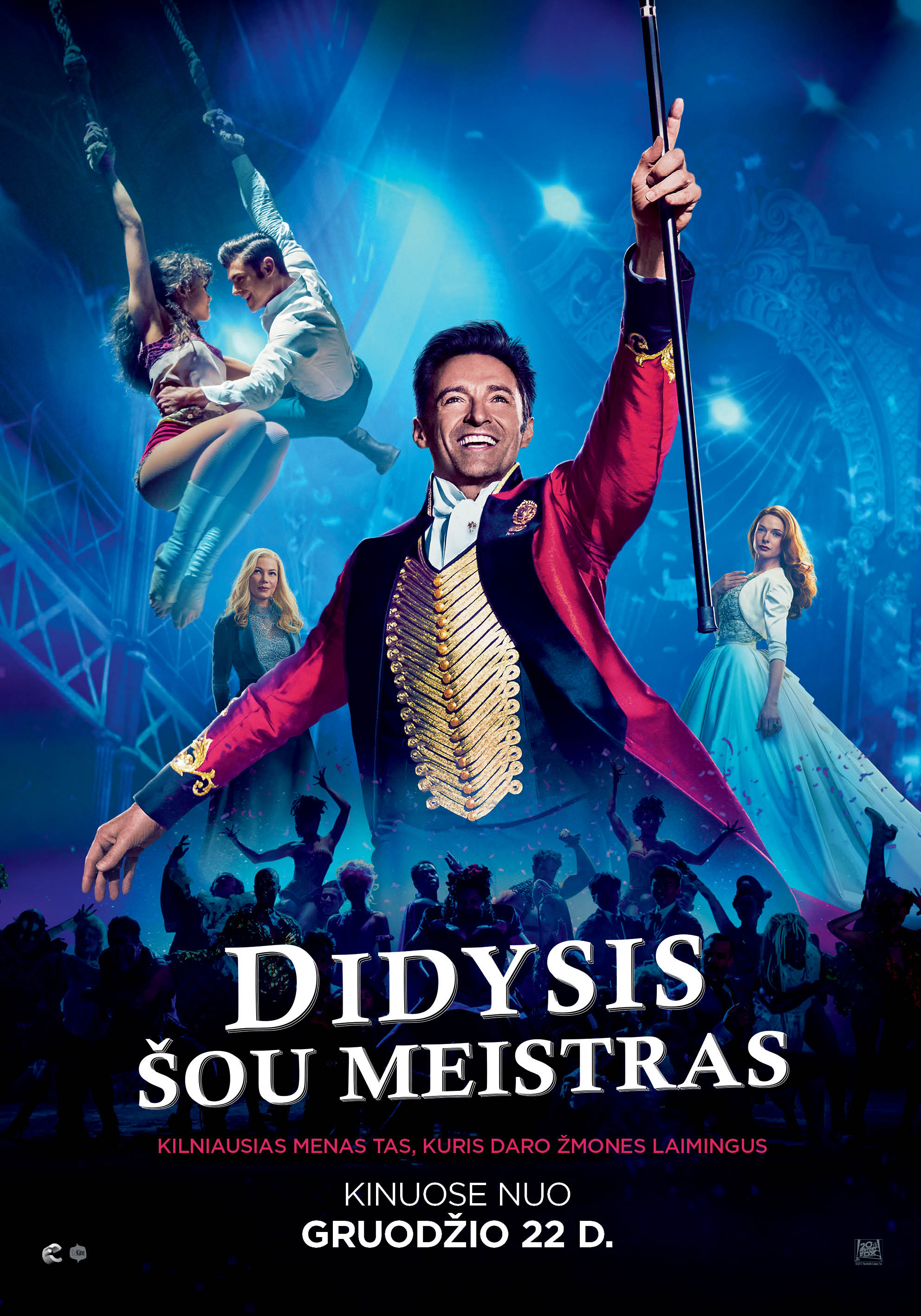 Didysis šou meistras (The Greatest Showman)