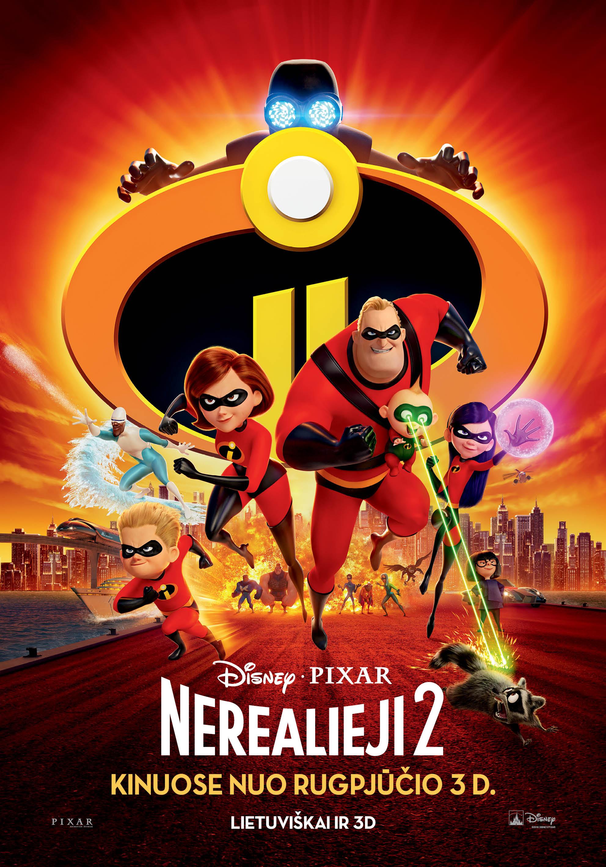 Nerealieji 2 (Incredibles 2)