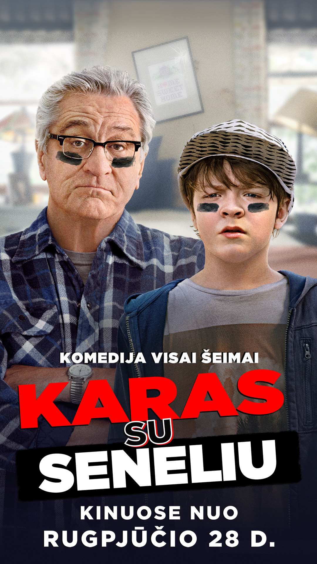 KARAS SU SENELIU (The War with Grandpa)