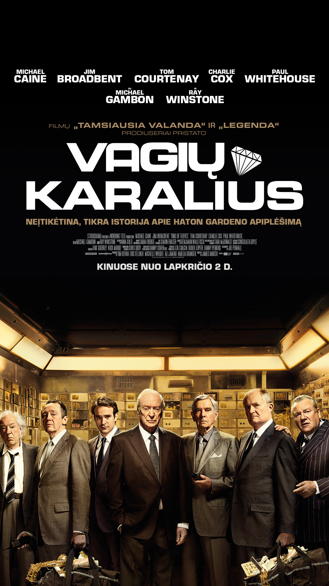 VAGIŲ KARALIUS (King of Thieves)
