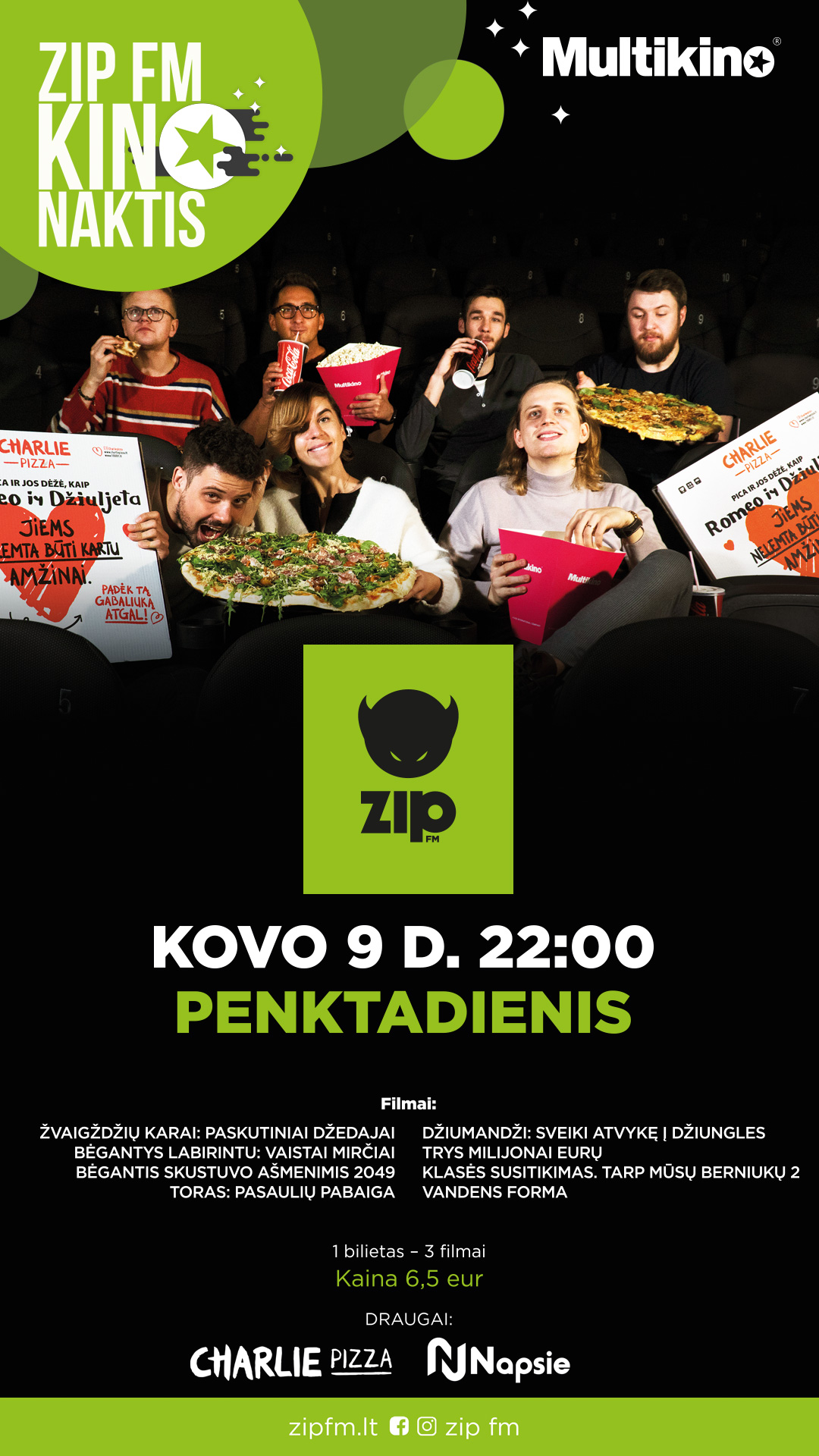 ZIP FM KINO NAKTIS vol.7