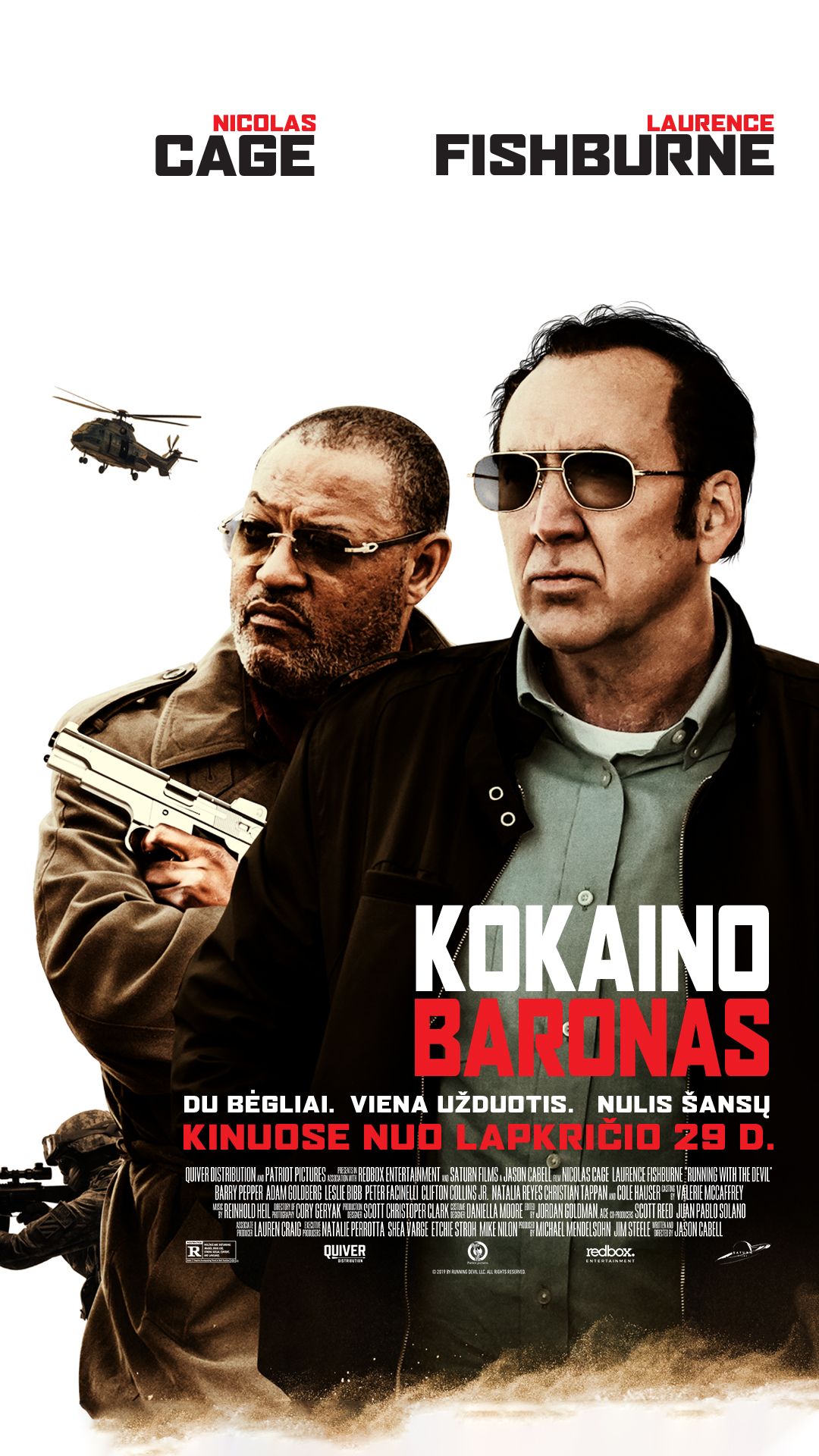 KOKAINO BARONAS (RUNNING WITH THE DEVIL)