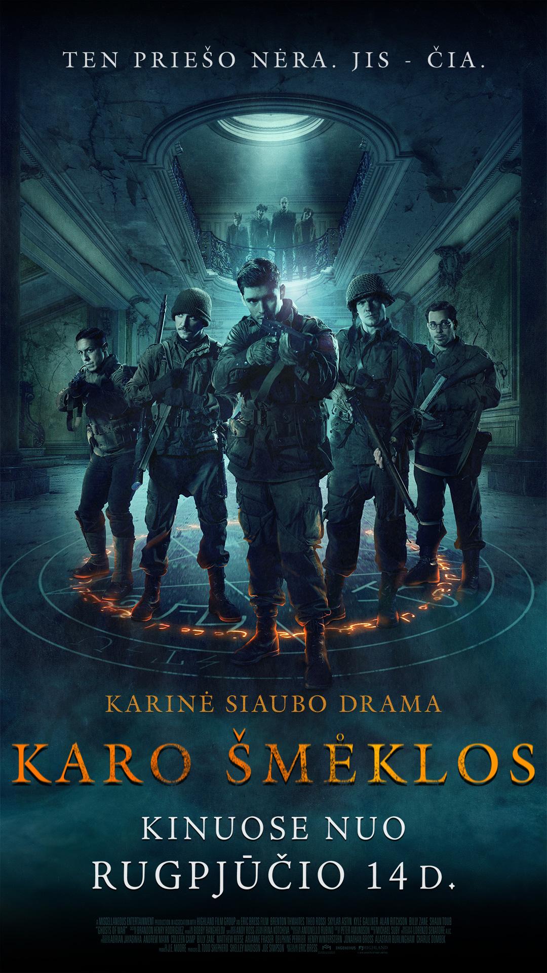 KARO ŠMĖKLOS (Ghosts of War)