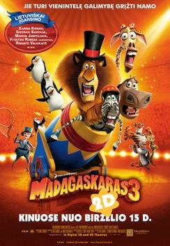 Madagaskaras 3 2D