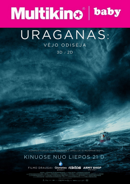 MultiBabyKino: Uraganas: Vėjo odisėja (Ouragan, l'odyssee d'un vent)