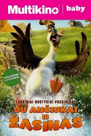 MultiBabyKino: Du ančiukai ir žąsinas (Duck duck goose)