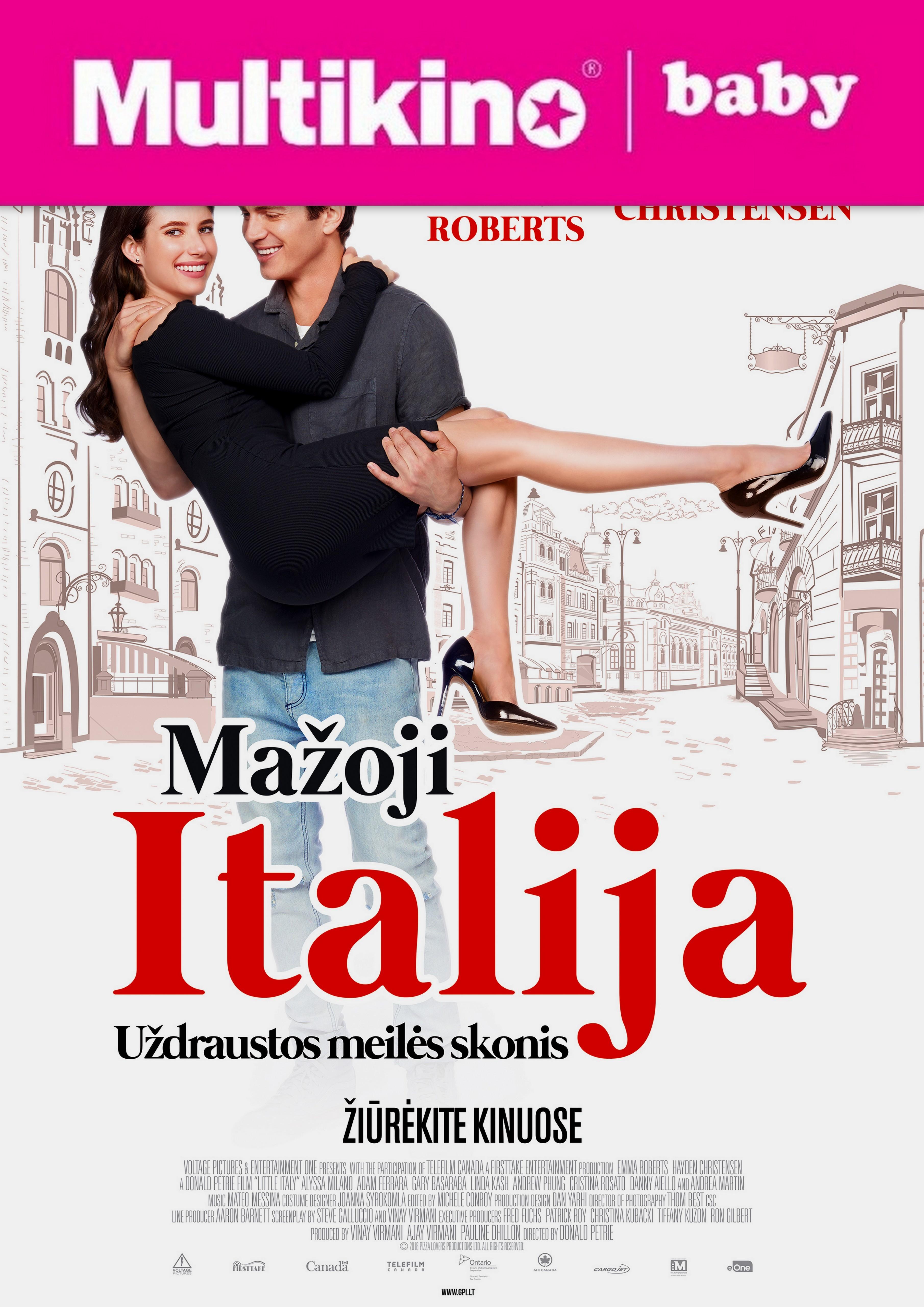 MultiBabyKino : Mažoji Italija (Little Italy)