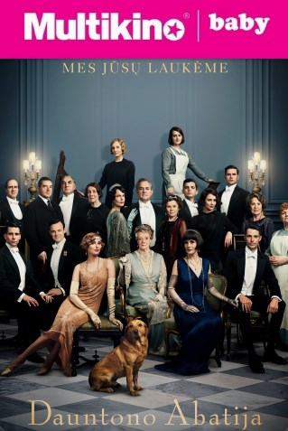 MultiBabyKino: DAUNTONO ABATIJA (Downton Abbey)