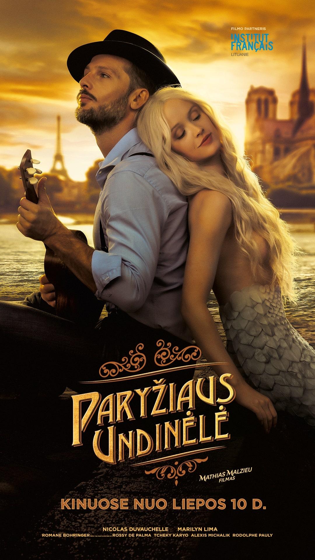 PARYŽIAUS UNDINĖLĖ (Mermaid in Paris)