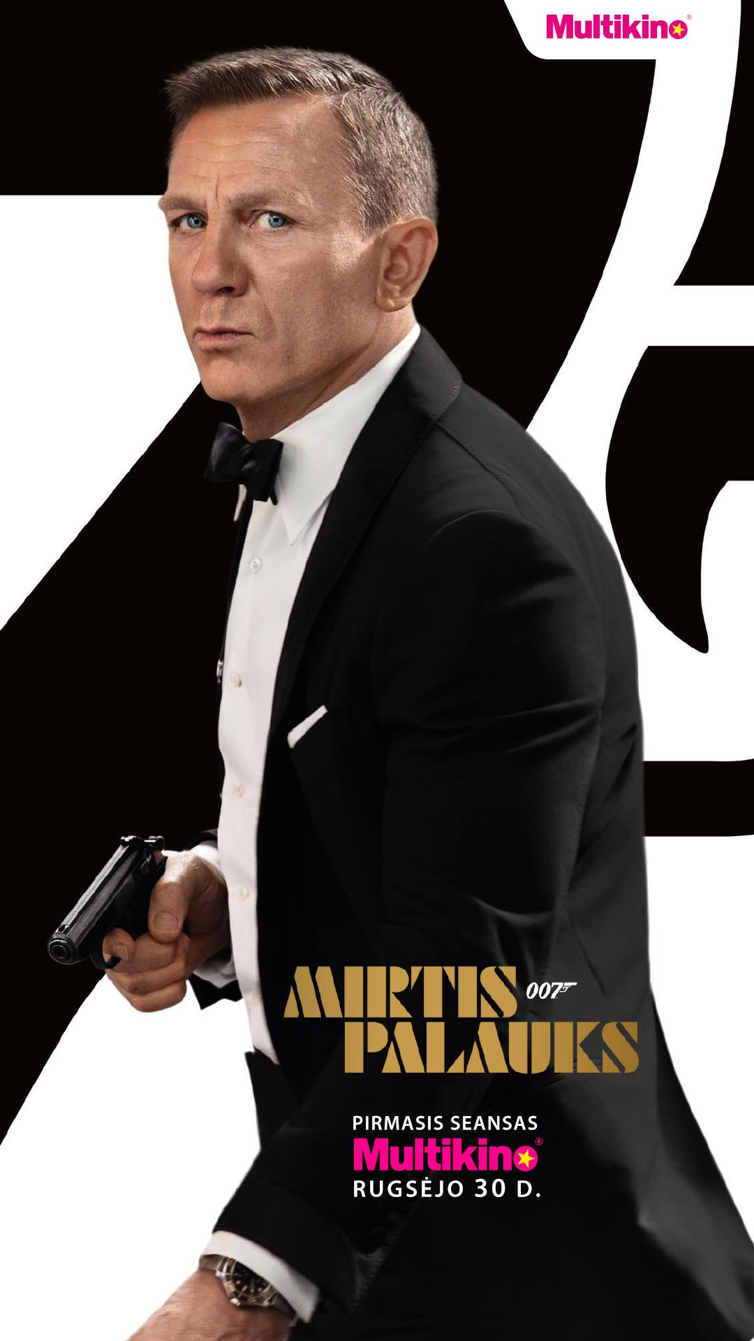 007 MIRTIS PALAUKS (007 No Time to Die)