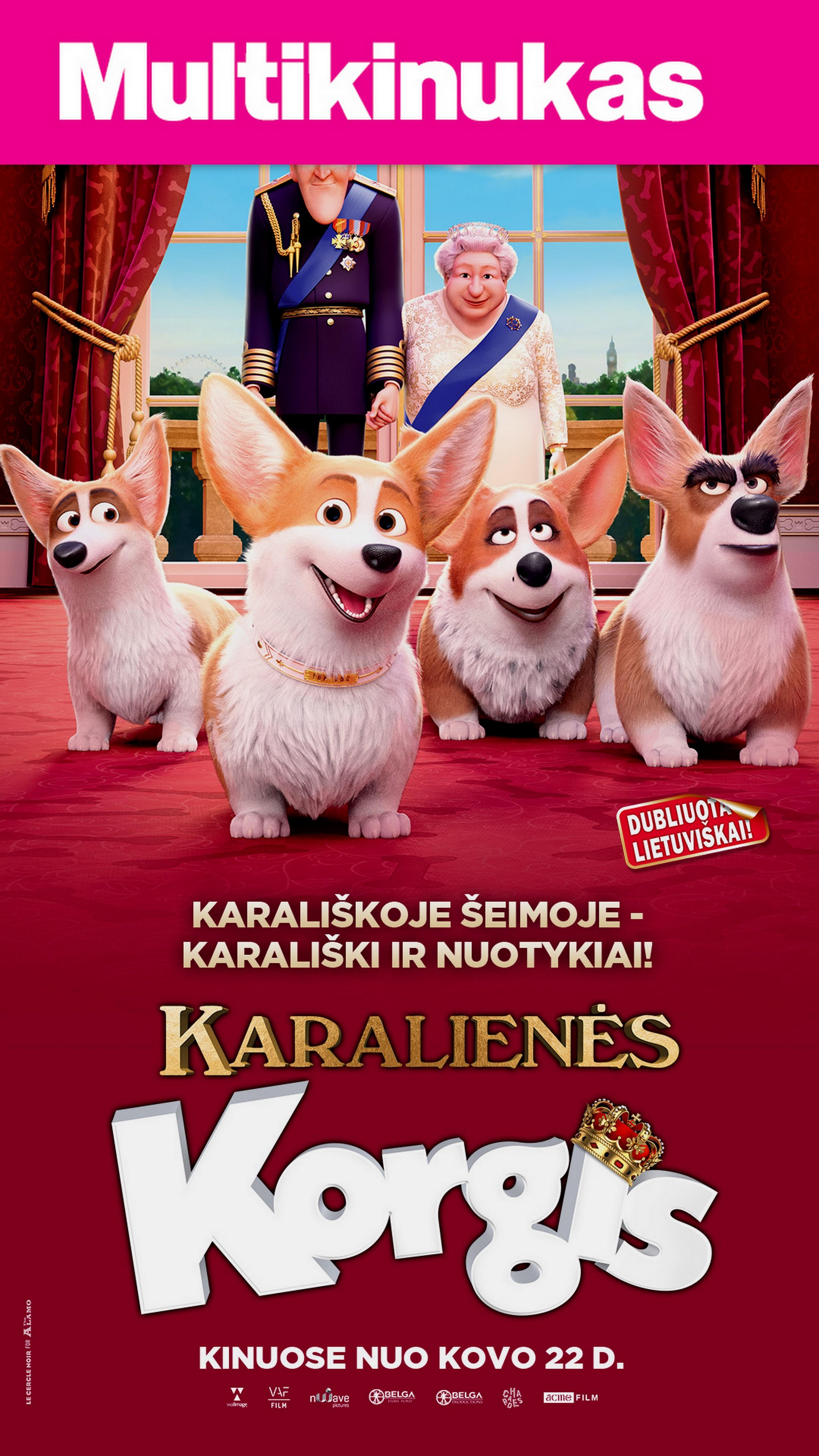 Multikinukas: KARALIENĖS KORGIS (Queen's Corgi)
