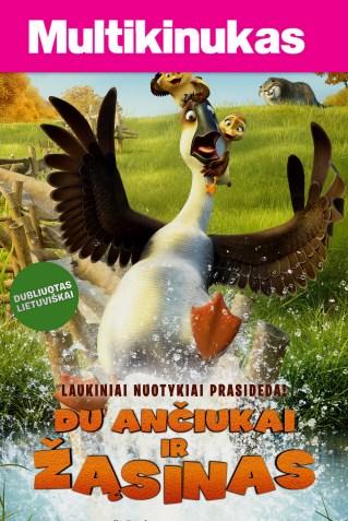 Multikinukas: Du Ančiukai Ir Žąsinas (Duck Duck Goose)