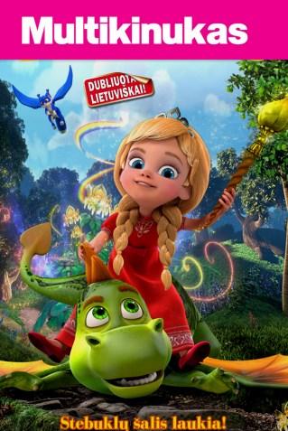 Multikinukas: Princesė ir drakonas (Princess and the Dragon)