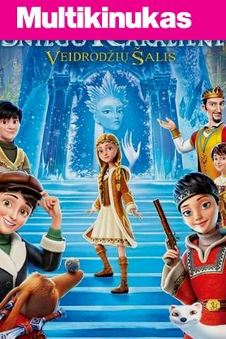 Multikinukas: SNIEGO KARALIENĖ 4: Veidrodžių šalis (Snow Queen 4)