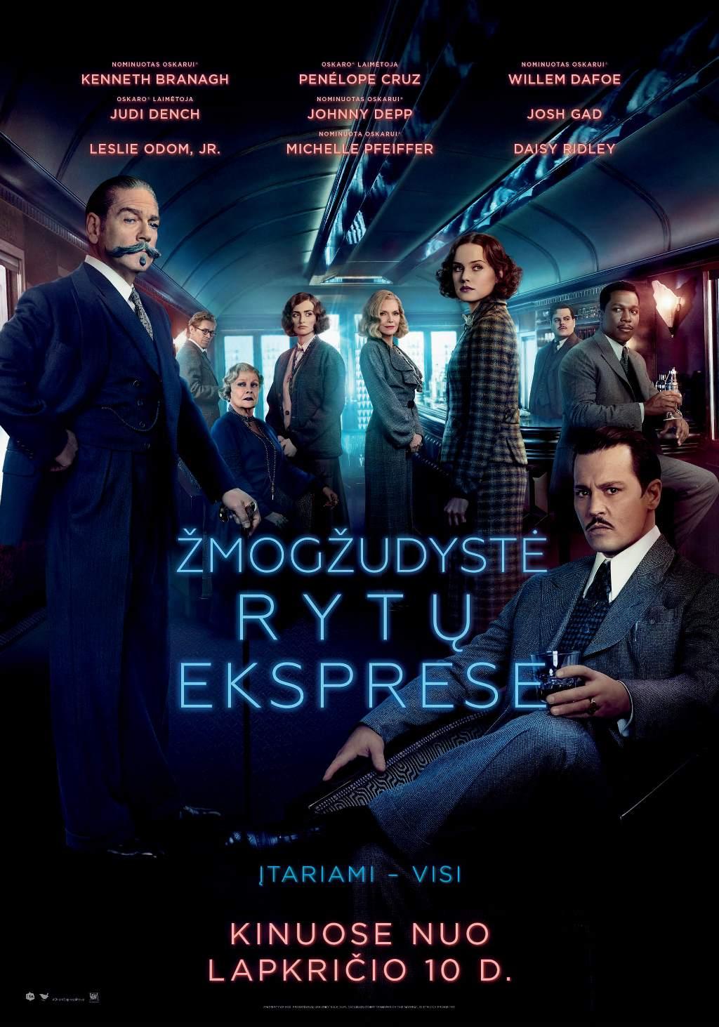 Žmogžudystė Rytų eksprese (Murder on the Orient Express)