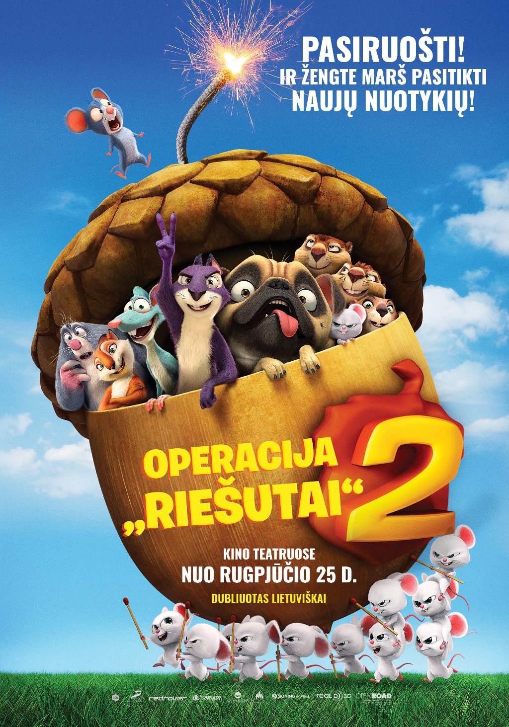Operacija Riešutai 2 (Nut Job 2: The Nutty by Nature)