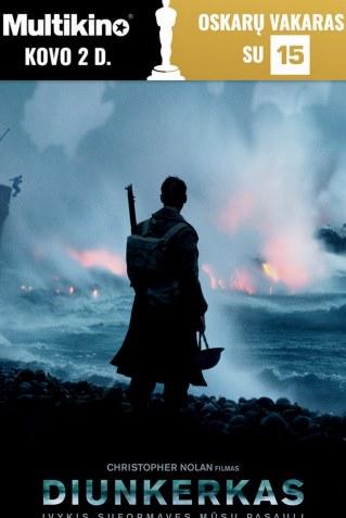 Oskarų vakaras : Diunkerkas (Dunkirk)