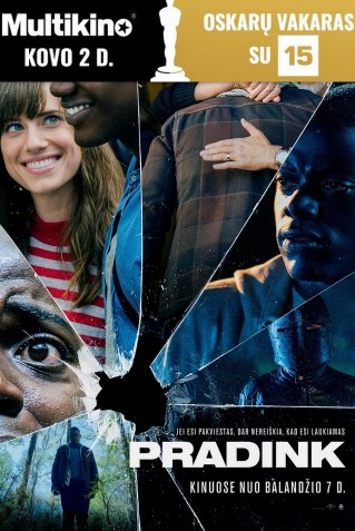 Oskarų vakaras : Pradink (Get Out)