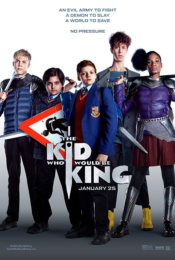 VAIKIS, KURIS TAPS KARALIUMI (Kid Who Would Be King)