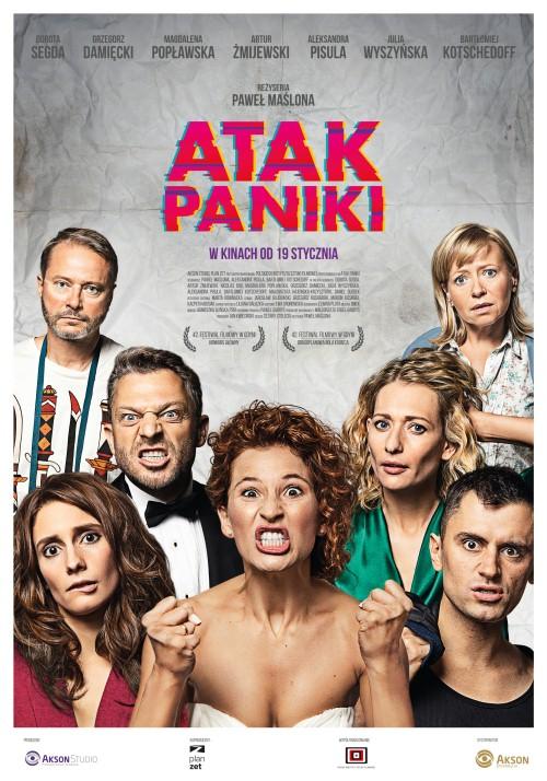 18-asis lenkų kino festivalis.  Panikos  ataka (Atak paniki)