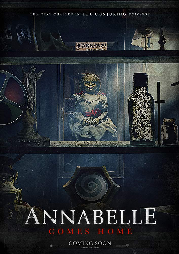 ANABELĖ 3 (Annabelle Comes Home)