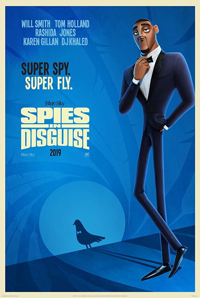 Užsimaskavę šnipai (Spies in Disguise)
