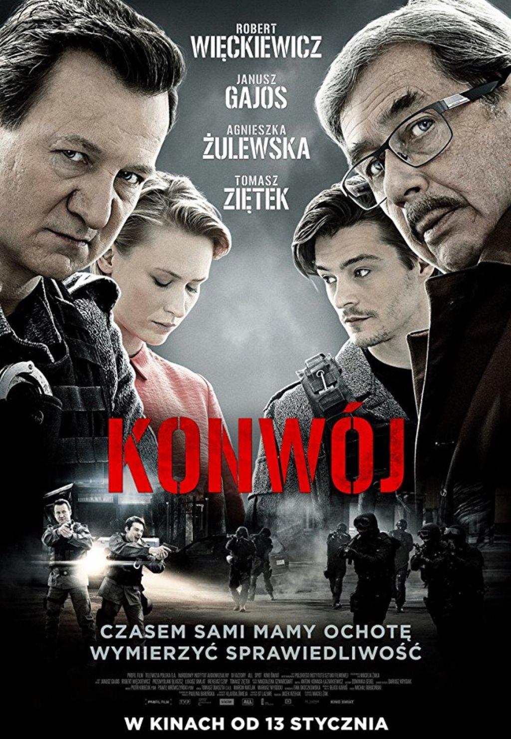 Lenkų kino savaitė : Konvojus (KONWÓJ)