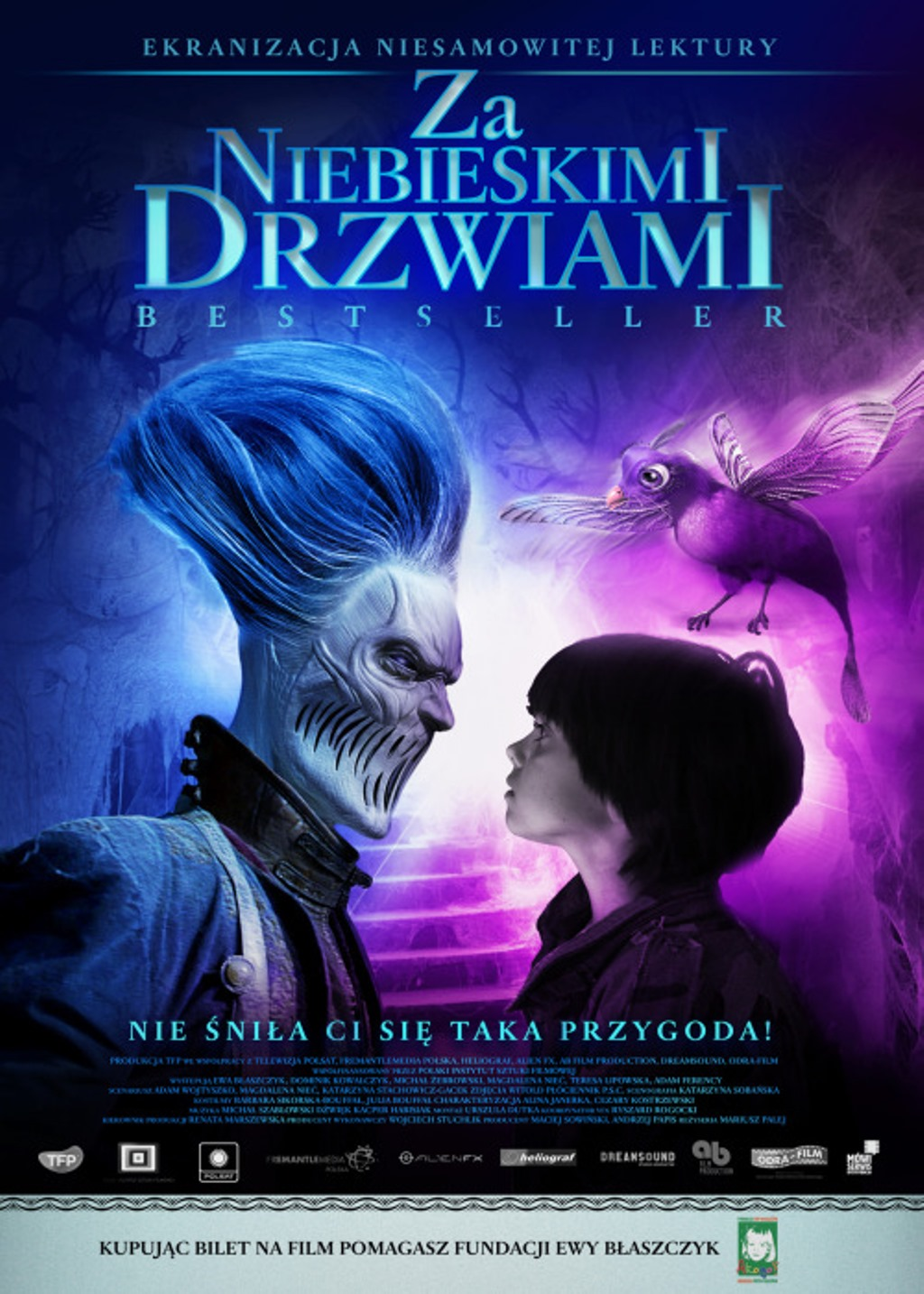 Lenkų kino savaitė : Už mėlynų durų (ZA NIEBIESKIMI DRZWIAMI)