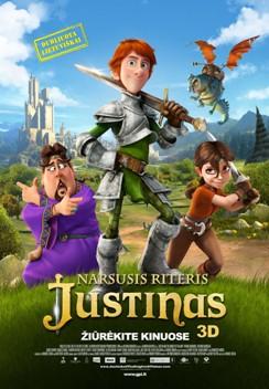 Narsusis riteris Justinas 2D