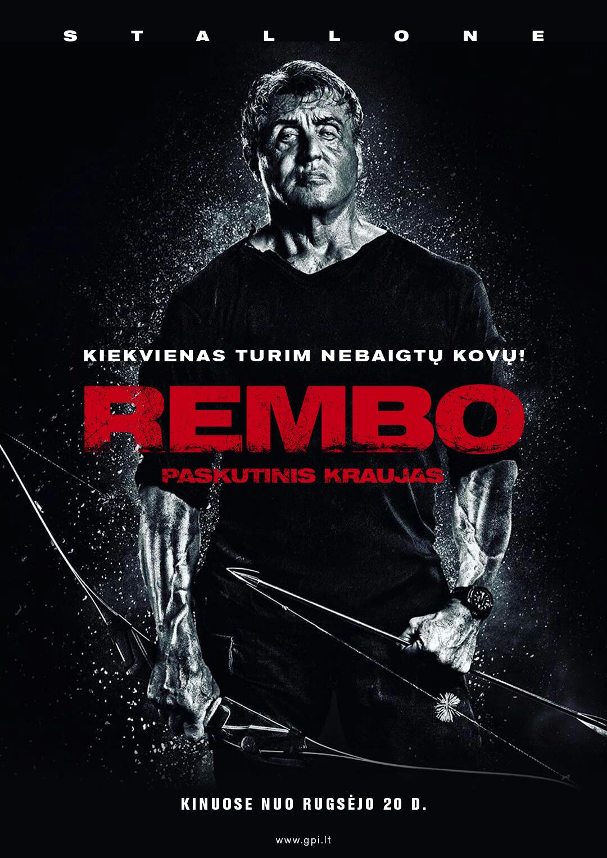 Rembo. Paskutinis kraujas (Rambo V Last Blood)