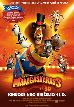 Madagaskaras 3 3D