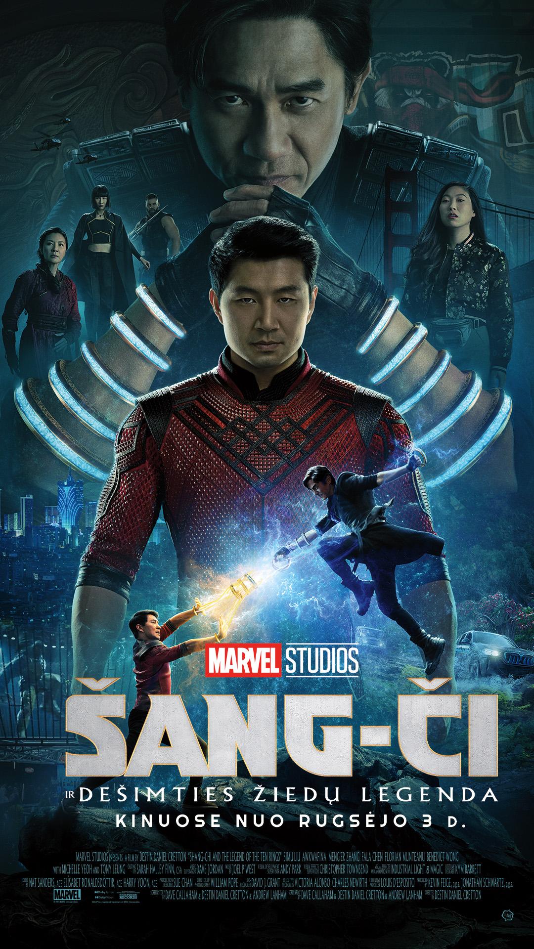 Šang-Či ir dešimties žiedų legenda (Shang-Chi and the Legend of the Ten Rings)