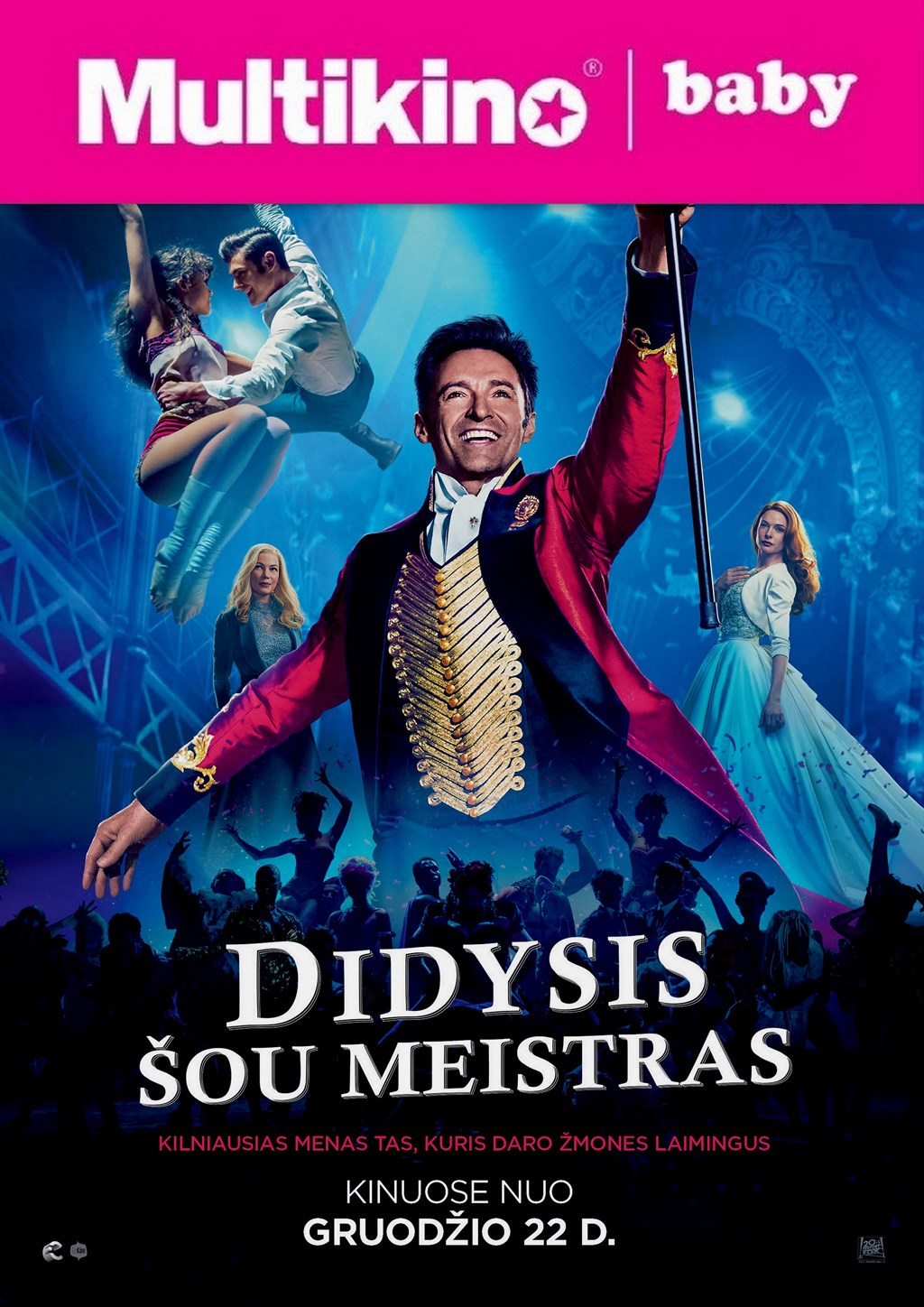 MultiBabyKino: Didysis šou meistras (The Greatest Showman)