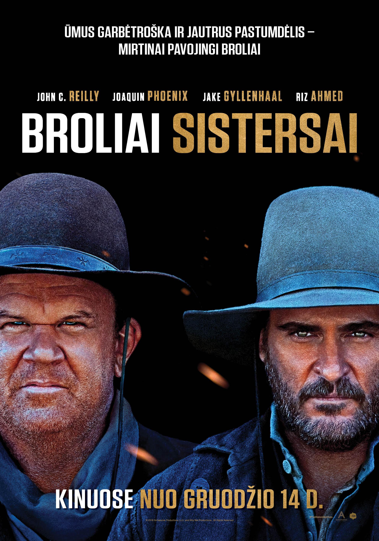Broliai Sistersai (The Sisters Brothers)