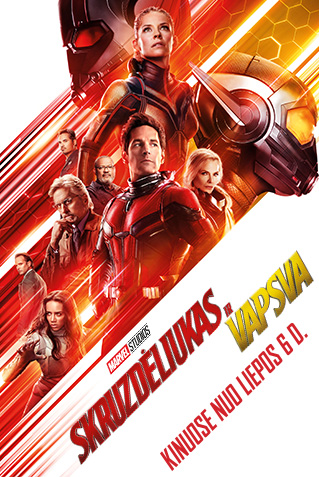 Skruzdėliukas ir vapsva (Ant-Man and the Wasp)