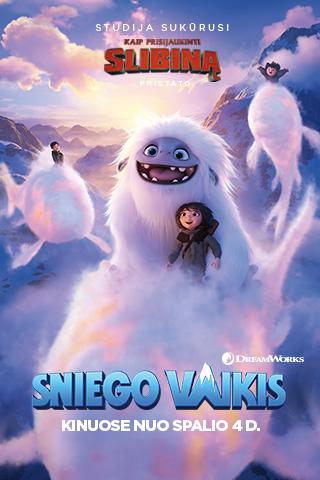 SNIEGO VAIKIS (Abominable)