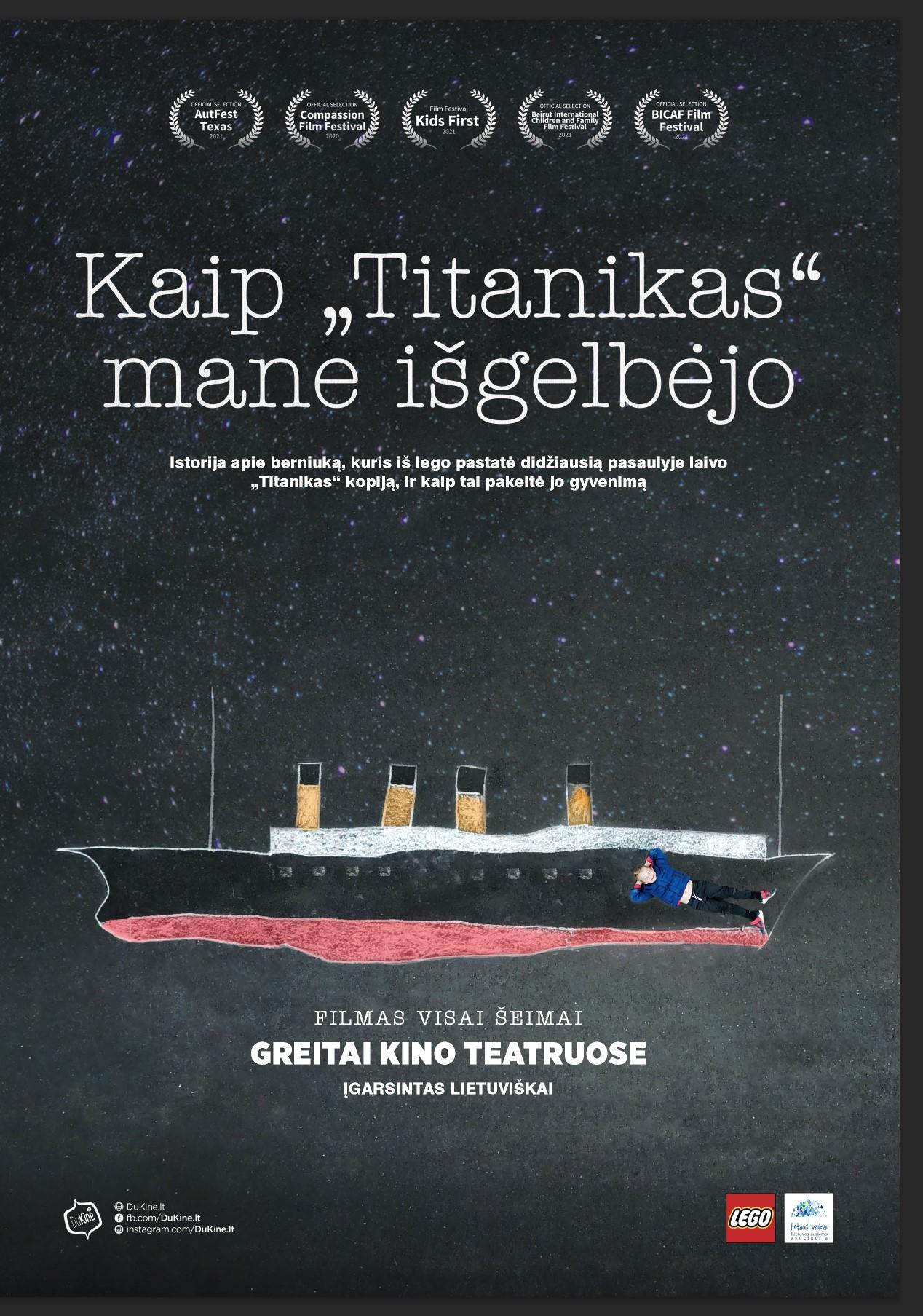 """KAIP """"TITANIKAS"""" MANE IŠGELBĖJO (How the Titanic Became My Lifeboat)"""