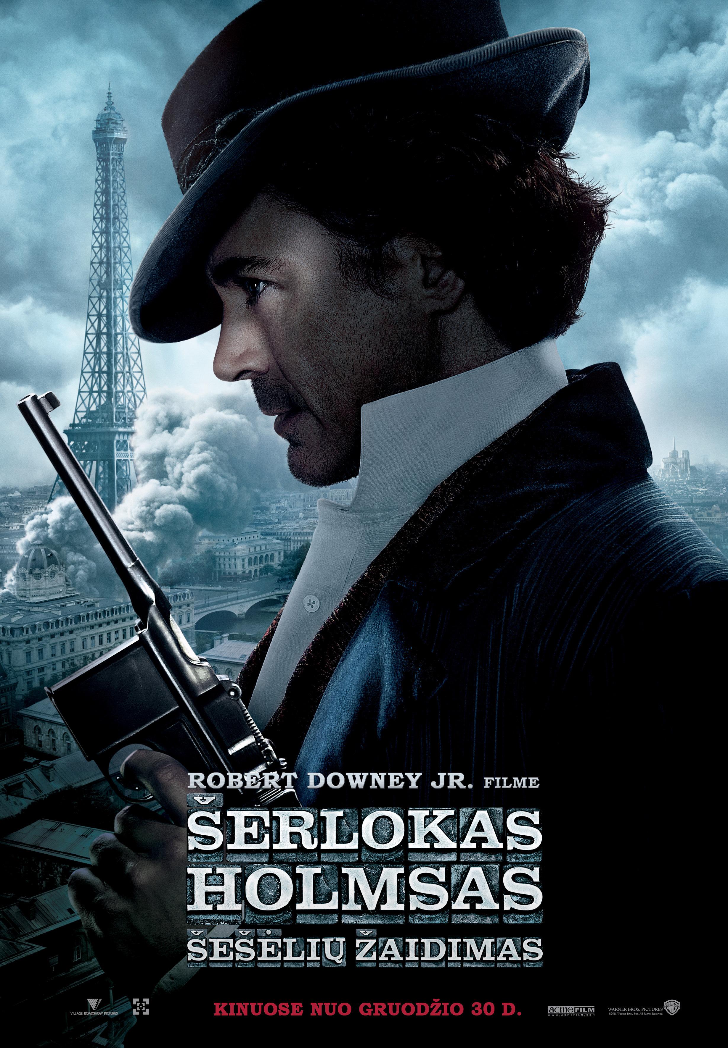 Šerlokas Holmsas 2: šešėlių žaidimas