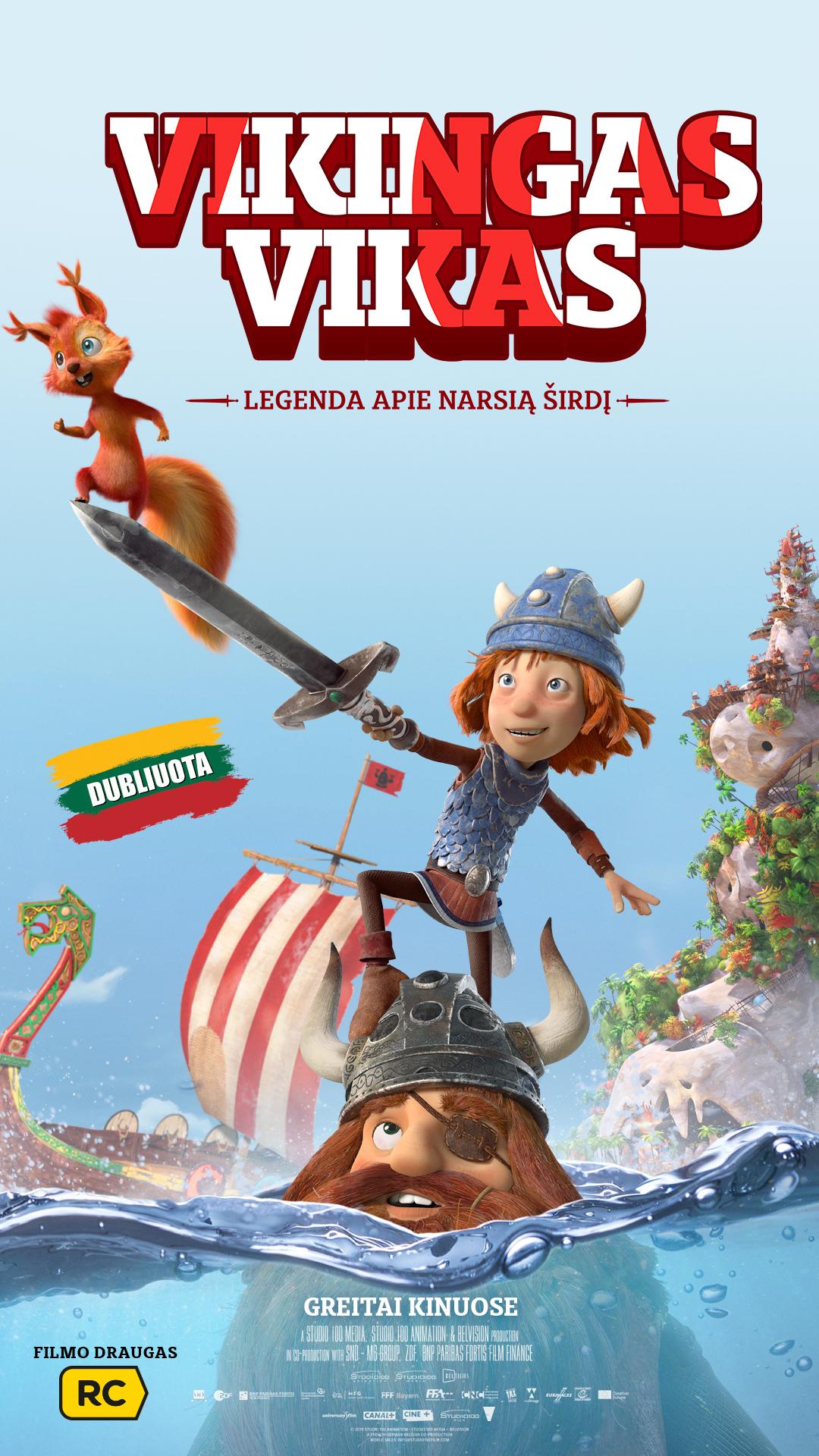 VIKINGAS VIKAS (Vic the Viking and the Magic Sword)