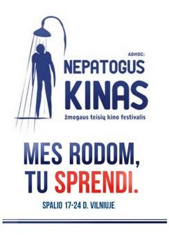 """Žmogaus teisių kino festivalis """"Ad Hoc: Nepatogus Kinas"""""""